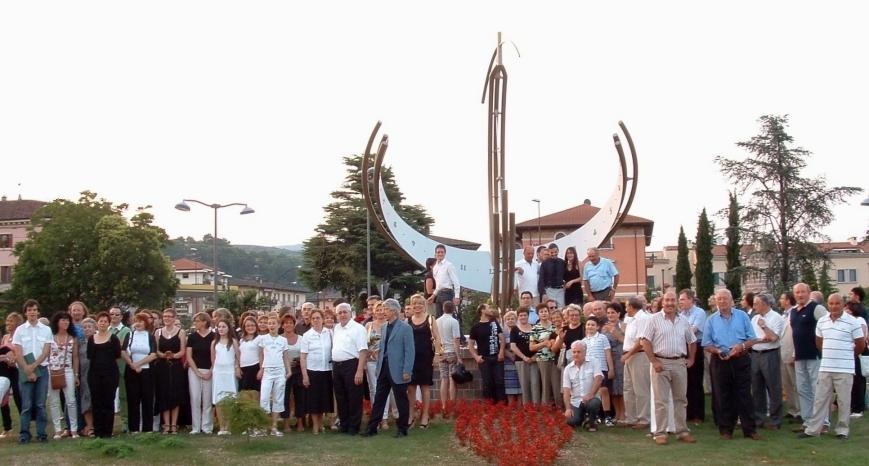 inaugurazione Meridiana di Negrar - progetto Ferlenga Giuseppe
