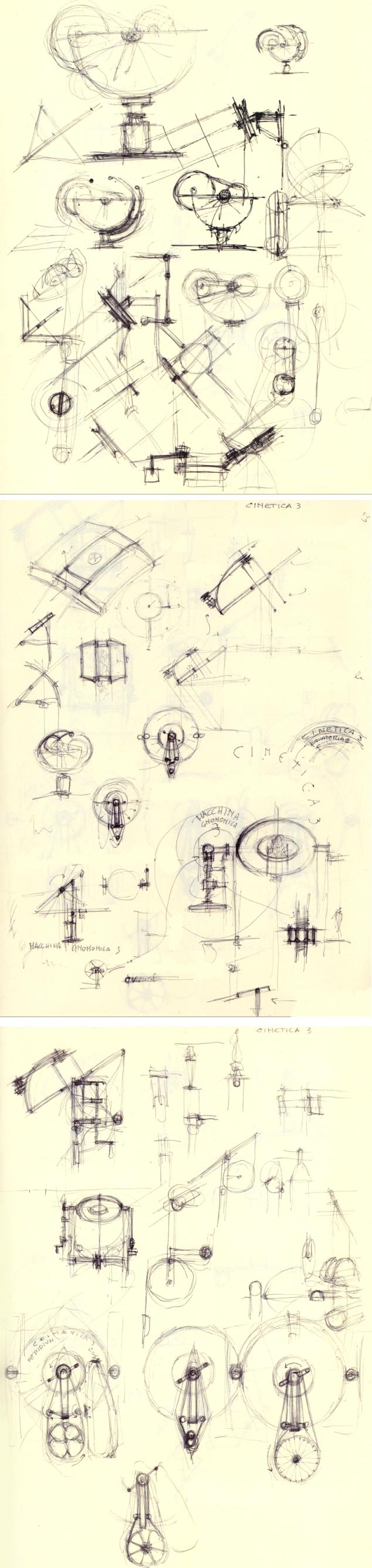 Disegni Macchine Gnomoniche Ferlenga